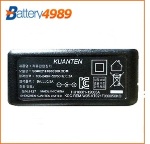 [중고][gent power]GPE101105090-2K 9V 500mA/9V500mAh/9V500mA/9v0.5A (5.5/2.1mm) 어댑터